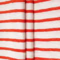 Yarn Dyed Cotton Polyester CVC Rib 1*1 Fabric