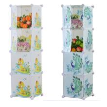 Armoires de rangement 4 armoires de rangement pour maison à domicile (ZH0024)