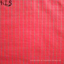 100% Baumwolle Popeline gewebt Garn gefärbt Stoff für Shirts / Kleid Rlsc50-30