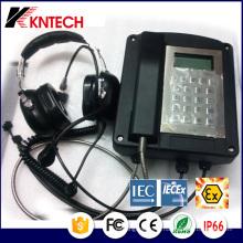 СМЦ взрывозащищенный Телефон сертификат Мэкех Knex1 защиты IP66 взрывозащищенный Тип