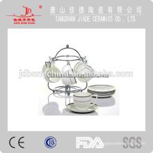 inglazed porcelain stoneware drinkware tea coffee set cup and saucer