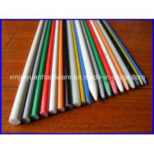 Tige en fibre de verre léger et résistant aux rayons UV, tige en fibre de verre, tige en fibre de verre