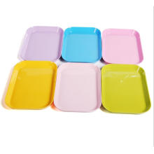 (BC-TM1004) Hot-Sell High Quality Reusable Colorful Melamine Tray