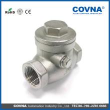 Válvula de retención de acero inoxidable 304 con precio bajo