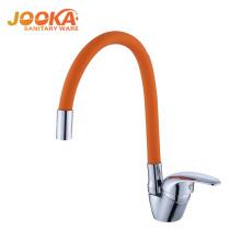 Latest design flexible pipe kicthen water tap modern fancy faucet