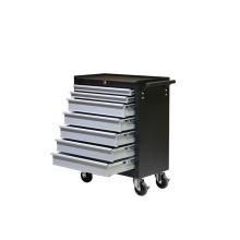 Gabinete de herramientas de caja de herramientas de metal DIY con ruedas