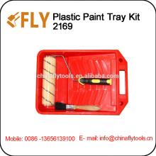 Kit de bandeja de pintura de plástico