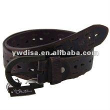 Cinturón de cuero genuino para hombre