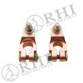 Conector do carro Terminais do cabo da bateria de cobre braçadeiras da bateria de carro