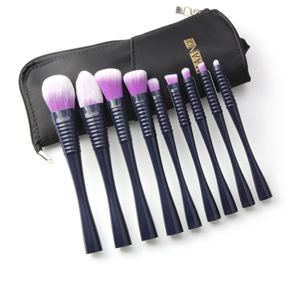 9 PCS Makeup Brushes Set 7