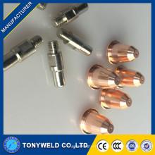 Tração de Plasma de Ar Trafimet S45 Eletrodo e Bico de Corte S45