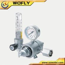 Regulador de oxigênio médico com caudalímetro