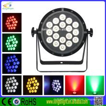 Lampe mit Batterie 18 * 3w rgbw 4in1 führte par Licht Disco Licht China LED-Anzeige