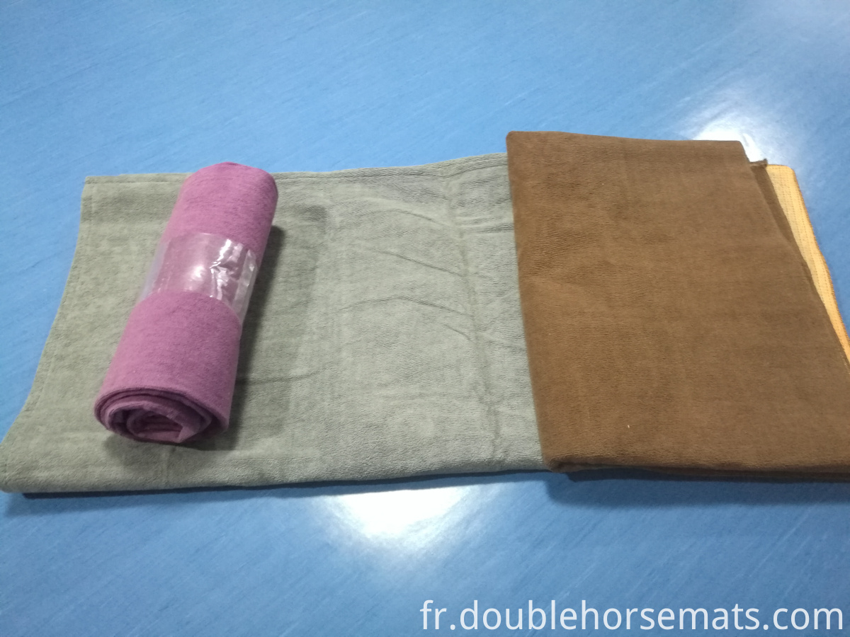 The microfiber material fitness towel