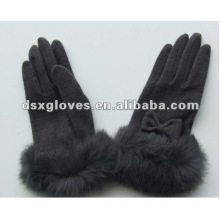 Fashion Casual Gloves with fur wrist