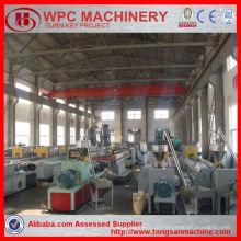 Древесно-пластмассовый композитный станок / машина wpc / производственная линия по производству деревянных пластиков