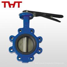 Válvula de borboleta da roda de mão da torneira tvt 6
