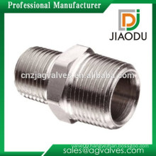 High quality and low price manufacture 1/ 4 inch forged nipple nickel plated threaded brass pipe npt male fittings