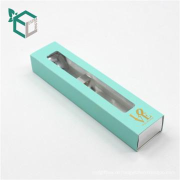 Benutzerdefinierte billige Schublade Druckmuster Stift Box für Geschenk