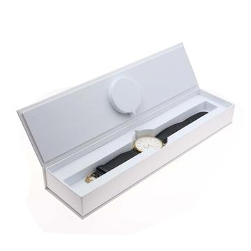 Custom Logo Utskrift Hot Stamping Watch Packaging Box