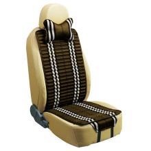 Автомобильные сиденья подушки плоскую форму двойной стороны использования с проверенных белья и Pleuche кофе