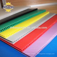 JINBAO 4x8 rojo blanco azul hueco pp cartón caja plástico pp coro hoja