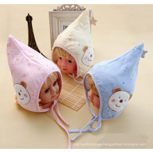 Baby Knitted Pointed Embroidered Winter Hat