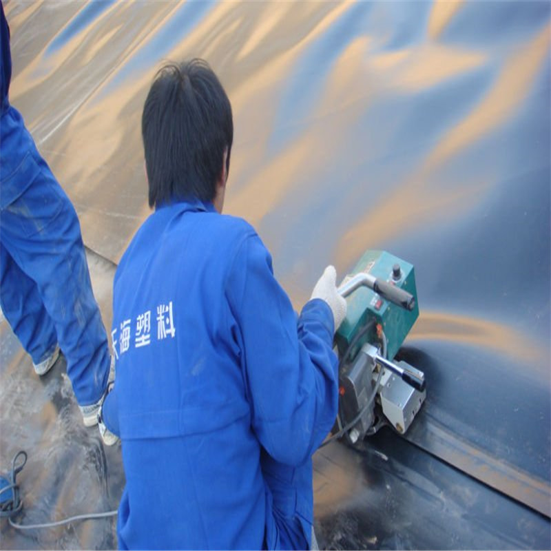 Welding Of Geomembrane