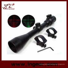 3-9 x 40 alcance retículo iluminado rojo/verde de 40mm