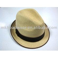 Sombrero de paja de moda