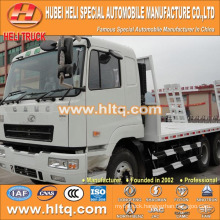 China supplier CAMC 6X4 20tons load 270hp construction machinery transporter with high quality hot sale in Africa.