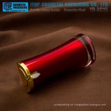 XC15 YB 15ml diseño simple vendedor caliente vacío innovadora loción plástico botella de acrílico 15ml
