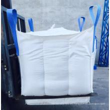 Bolsa FIBC jumbo tone 1000kg con bolsas de alimentación de canalón de carga o para cal a granel con precio de fábrica