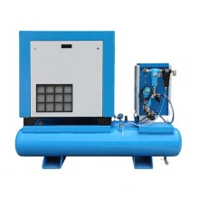 Special All in One Integrated 15kw 20hp Combined Screw Air Compressor with Air Storage Tank and Air Dryer