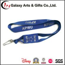 Персонализированных печатных синий полиэстер телефона держатель шеи талреп