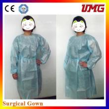 Vestido sin tejido de cirugía, vestido de aislamiento Material dental desechable