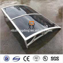 UV protection harga awning polycarbonate panel
