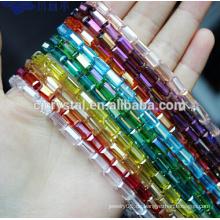 Kristallperlen sträht quadratische Perlen