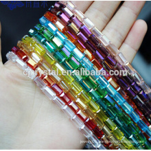 crystal beads strands square beads