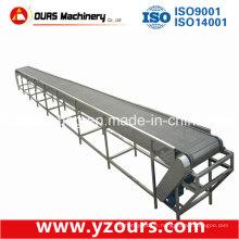 Convoyeur à bande de plaque d'acier pour la chaîne de montage