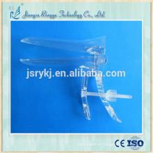 Espéculo vaginal médico plástico descartável