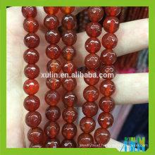 wholesale fashion jewelry ruby stone natural agate gemstone stone loose jewelry beads