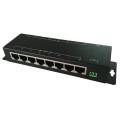 10 / 100M 8 porto LAN 8 porta POE Injector midspan RJ45 12V-57V