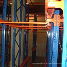 Стальные стойки привод в системе вешалки Паллета
