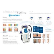 Sincoheren desarrolló una nueva tecnología Coolplas Body Slimming Fat Freezing Beauty Machine
