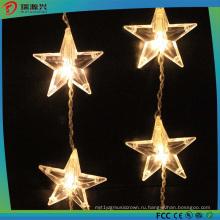 40 светодиодов Звезда строки свет на Рождество а xmax (теплый белый)