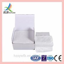 Vente chaude Spunlace lingettes sèches de nettoyage du visage