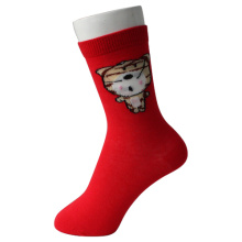 Red Tiger Girl's Socken
