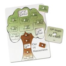 Educational Kids Wooden Arabic Alphabet Puzzle