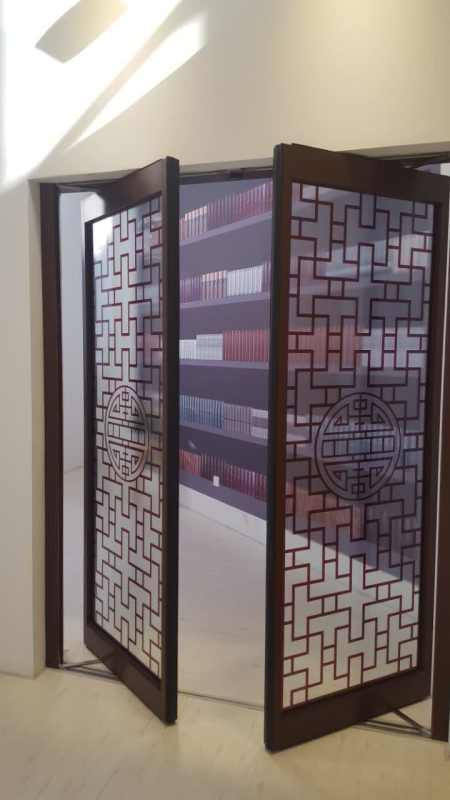 Ningbo GDoor Household Balance Doors with Aluminum Profiles